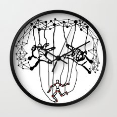 the Puppet Wall Clock