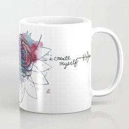 I Create Myself/ Bad Wolf Dream Catcher Coffee Mug