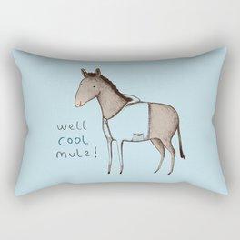 Well Cool Mule! Rectangular Pillow