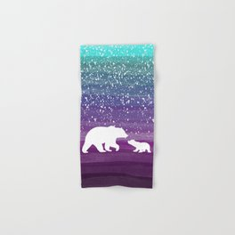 Bears from the Purple Dream Hand & Bath Towel