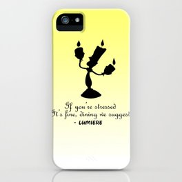 Lumiere from Beauty and the Beast iPhone Case