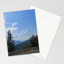 Gorgeous view of the Hayfork valley.... Stationery Cards