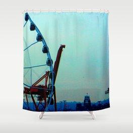 Cargosel Shower Curtain