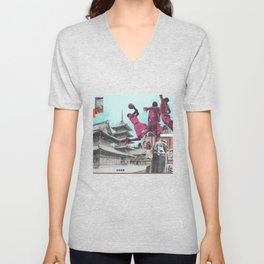 The Continued Search For God (I Have So Many Points) Unisex V-Neck
