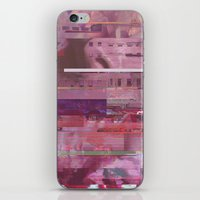 glitch iPhone & iPod Skins featuring Glitch  by Mikath