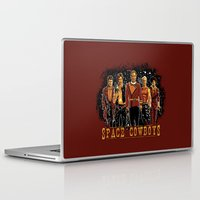 ripley Laptop & iPad Skins featuring Space Cowboys by The Cracked Dispensary
