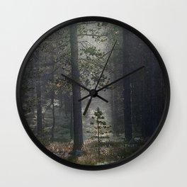 Patience (Norwegian Forest) Wall Clock