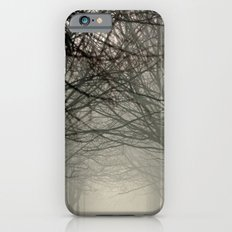 Branches meeting in the fog Slim Case iPhone 6s