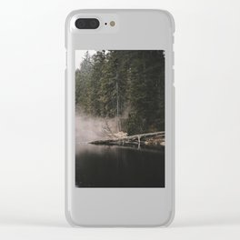In the Fog - Landscape Photography Clear iPhone Case