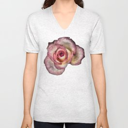 Frozen rose Unisex V-Neck