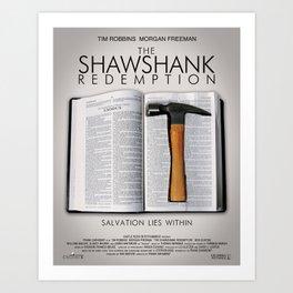 the shawshank redemption Art Print