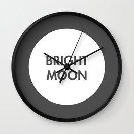 Bright Moon (Celtic) Wall Clock