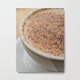 Chocolate Mornings Metal Print