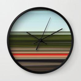 Vitesse immobile 03 Wall Clock