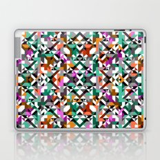 Aztec Geometric Reflection I Laptop & iPad Skin
