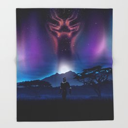 Black Panther Heaven Throw Blanket
