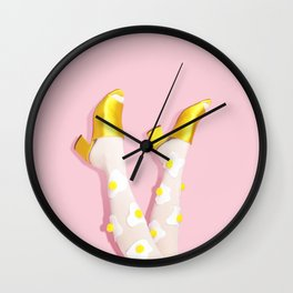 Leggs Wall Clock
