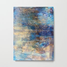 Drowning with Grace Metal Print