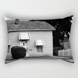 the house on the end of cabbage drive Rectangular Pillow