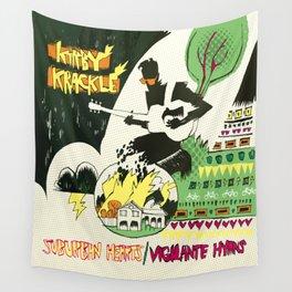 Suburban Hearts/Vigilante Hymns Album Art Wall Tapestry