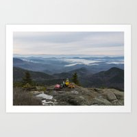 Noonmark Mountain Art Print