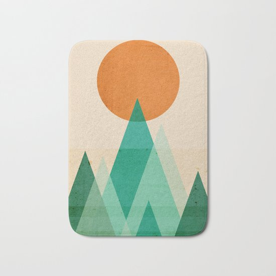 No mountains high enough Bath Mat
