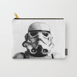 Stormtrooper Dotwork - Pointillism Fan Artwork Carry-All Pouch