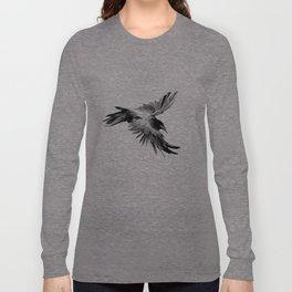 Flying Raven Long Sleeve T-shirt