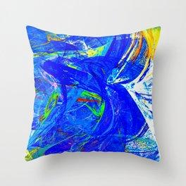 Splash of Paint Throw Pillow