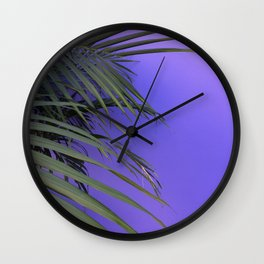 Indigo Nature Wall Clock