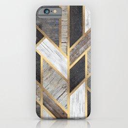 Rustic Scandinavian Design iPhone Case