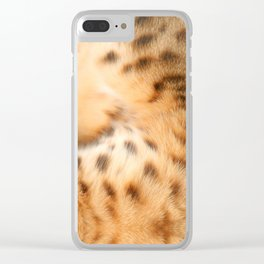 living fur Clear iPhone Case