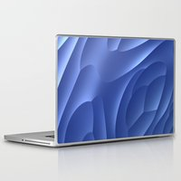 dune Laptop & iPad Skins featuring Blue Dune by Lyle Hatch