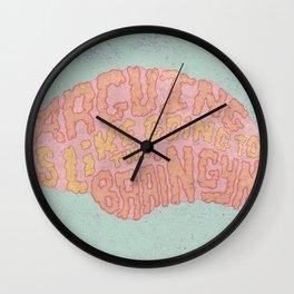 GAVIN McINNES ON ARGUING Wall Clock
