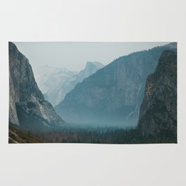 Yosemite Valley Tunnel View Rug