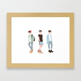 BoyfriendJungkook™ Framed Art Print