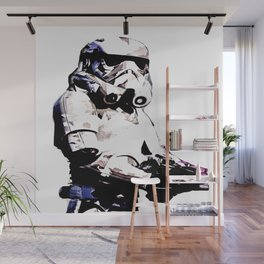Paper Trooper Wall Mural