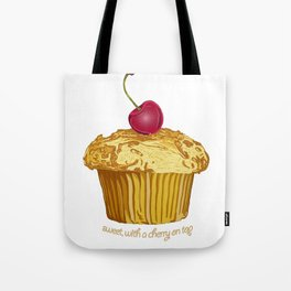 sweet, with a cherry on top Tote Bag