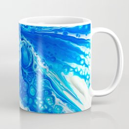 Blue cells Coffee Mug