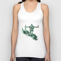 anime Tank Tops featuring Anime 1 by Prince Of Darkness
