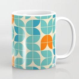 Mid Century Modern Scandinavian Tulips Coffee Mug