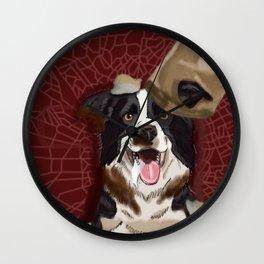 Dog Gone Dirty Wall Clock