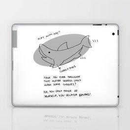 misunderstood shark Laptop & iPad Skin