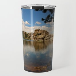 What A Beautiful Day At Sylvian Lake Travel Mug