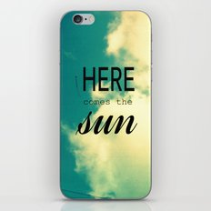 Here comes the Sun! iPhone & iPod Skin