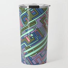Wandering 28: color variation 1 Travel Mug
