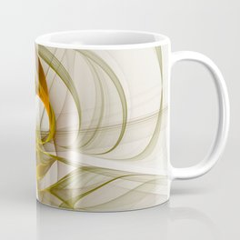 Fractal Art Precious Metals, Abstract Graphic Coffee Mug