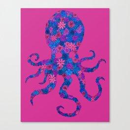 Octo Bloom Canvas Print