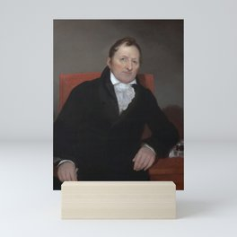 Eli Whitney Portrait - By Samuel Morse Mini Art Print