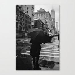 Rainy New York IX Canvas Print